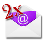 2 questions par mail